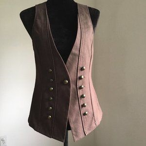 New York  & Company Brown Vest